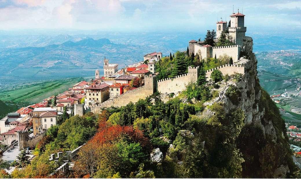 San Marino en Italia