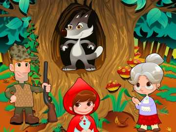 Červená Karkulka - pro děti krásný příběh
