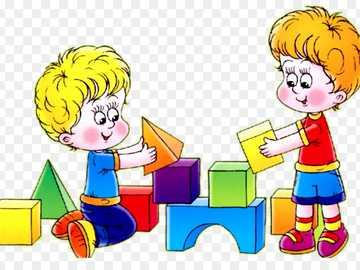 Děti si hrají v parku pro zábavu - Děti si hrají v parku pro zábavu