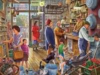 Cumpărături în magazin