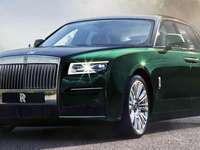 Rolls-Royce Ghost - Rolls-Royce Ghost Extended, 2021. The long wheelbase version of the new generation Ghost has been re