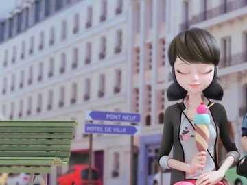 marinette Miraculous - Ella es una estudiante del Colegio Françoise Dupont en París, Francia. Sueña con ser una gran dis