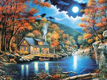 Painting. - Art. Painting. Jigsaw puzzle.