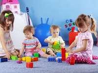 In kindergarten - M .............. m .........