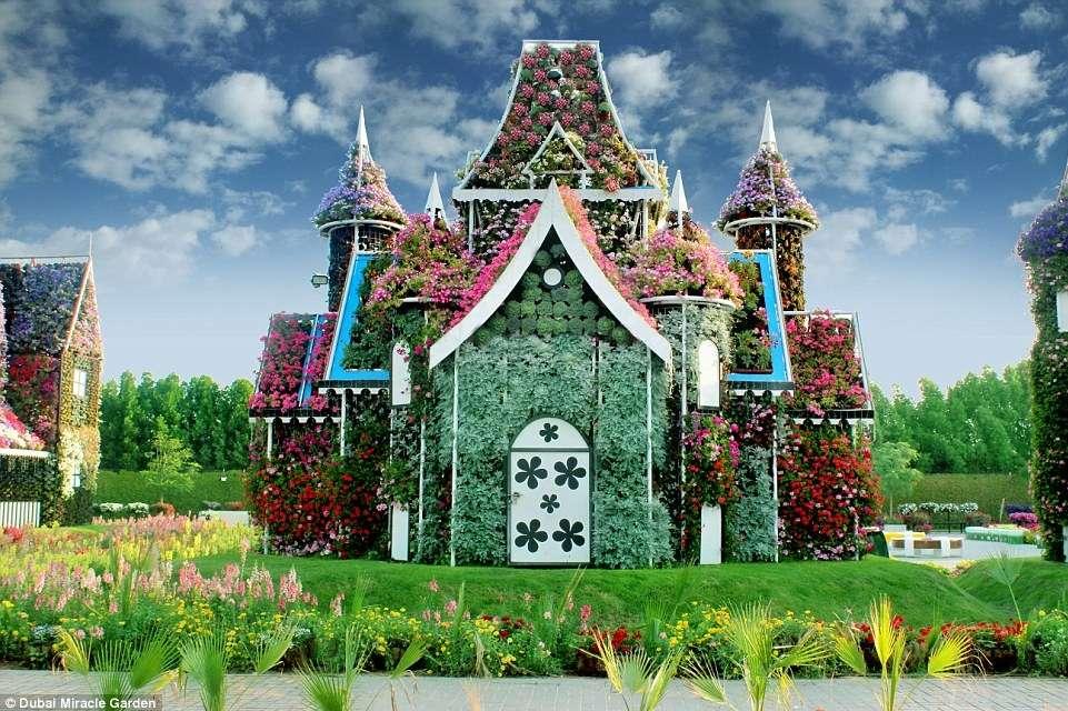 que casa de flores - uma casa de flores linda fada jakzz (10×7)
