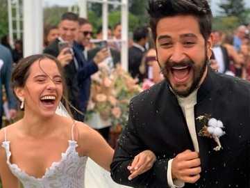 Evaluna Montaner und ihr Ehemann Camilo - sie ist evaluna montaner