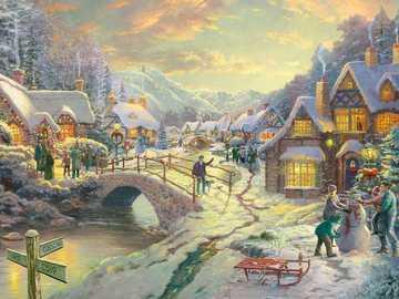 periodo natalizio - in piena celebrazione del Natale
