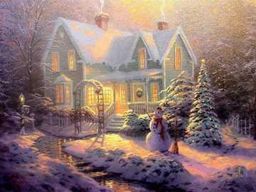 celebrare il Natale - celebrare un bianco Natale