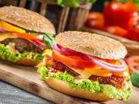 μπιφτέκια - Μπιφτέκια γρήγορου φαγητού