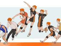 hinata (evolution) - all the facets that hinata went through playing volleyball