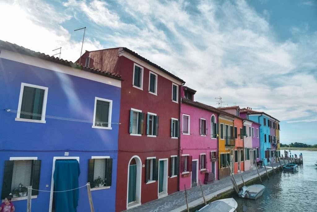 Italia - case colorate puzzle