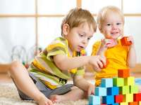 Playing with blocks - M ........................