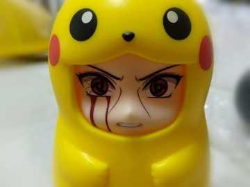 Itachi Pikachu - Itachi disguised as Pikachu
