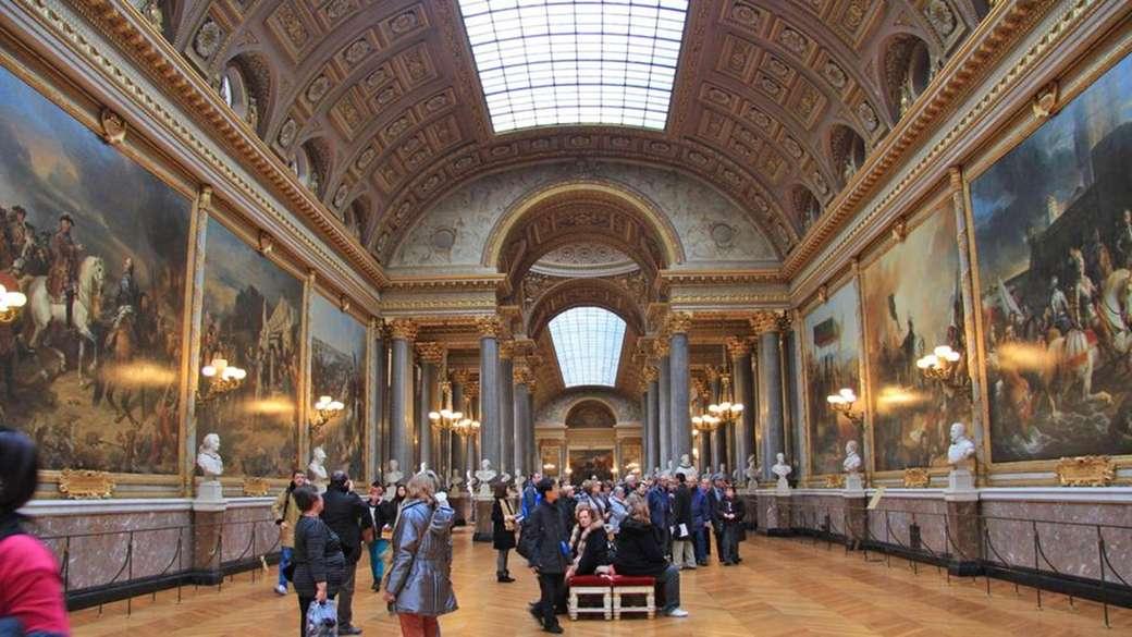 Louvre en París rompecabezas