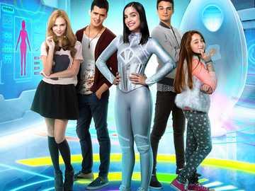 elenco de Eu sou franky :-) - Estou franky é uma série da Nickelodeon, o ano em que foi lançado foi 2015 e terminou em 2016