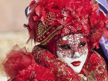 Venezianische Masken und Kostüme Karneval Venedig - Venezianische Masken und Kostüme Karneval Venedig