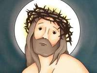 Ο Ιησούς στέφεται με αγκάθια - Ο Ιησούς στέφθηκε με αγκάθια - το τρίτο θλιβερό μυστήρι