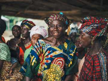 tilt shift photography of people - Taken on a trip in 2016 with World Vision to Sierra Leone. Releases obtained See all the photos in