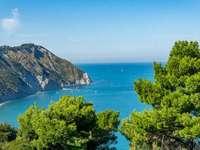 Landschaft von Marken Region in Italien - Landschaft von Marken Region in Italien