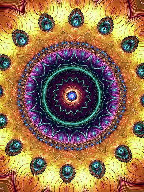Mandala kleurrijk