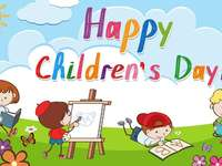 Happy Children's Day - Hello, kids! Let's have fun to celebrate Children's Day, October 12th. Kisses, Teacher Kar