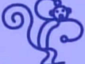 m sta per scimmia - lmnopqrstuvwxyzlmnop
