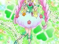 精靈小哈/花海言葉(幸福天使Cure Felice) - 第十三部魔法使 光之美少女,從由知識之森裡一本不可思議的書本變成的波