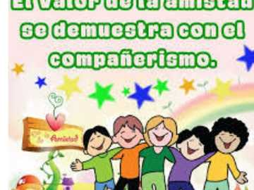 Valor de la Amistad - Valor universal de la amistad