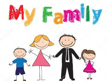 MY FAMILY - PUZZLE FAMILY MEMBERS