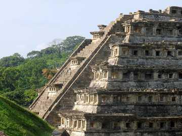 Archaeological zone of Veracruz - El tajín, Totonac city in Papantla Veracruz
