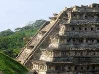 Zona archeologica di Veracruz - El tajín, città Totonac a Papantla Veracruz