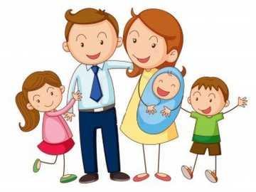 la familia - observa y ordena las imágenes
