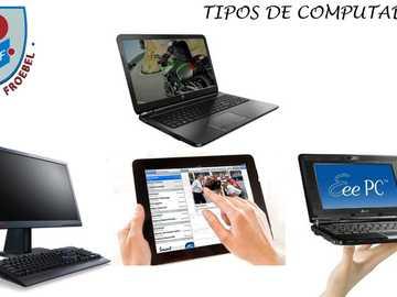 TIPOS DE COMPUTADORES - TIPOS DE COMPUTADORES