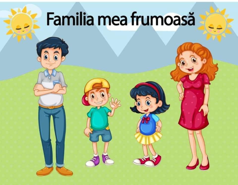 Gyönyörű családom - Gyönyörű családom. Kombinálja a puzzle részeit, és nézze meg, mit kap. Gyönyörű családom - kollázs (2×2)