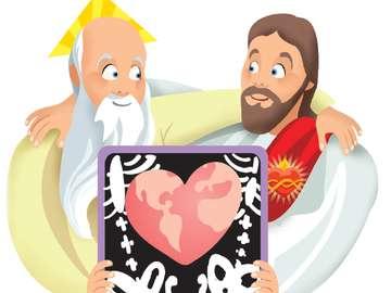 Ein Geschenk Gottes - Ermutigen Sie die Schüler, Rätsel mit Gottes Gaben zusammenzustellen