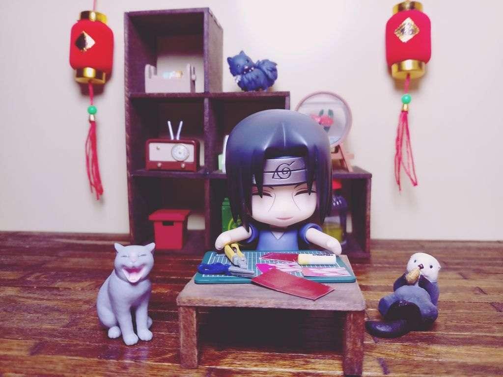 Itachi egy japán nappaliban online rejtvény