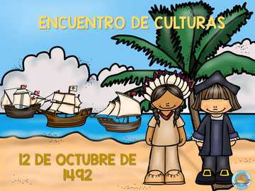 Discovery of America - Meeting of cultures