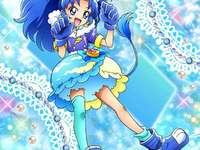 立神葵(冰淇淋天使Cure Gelato) - 第十四部光之美少女:食尚甜心主角之一,在吃下由宇佐美一花及有栖川陽�