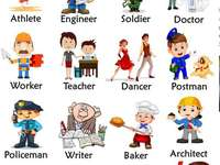 Jobs Puzzle - This puzzle is meant to be an activity to help my students to learn about jobs.