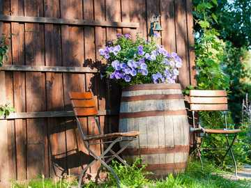 Um plantador especial no jardim - Um plantador especial no jardim
