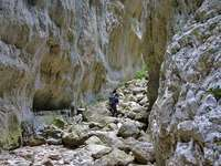 Landscape Abruzzo gorge in the mountains Italy - Landscape Abruzzo gorge in the mountains Italy