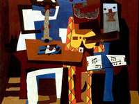 PABLO PICASSO - THE THREE MUSICIANS CUBISM