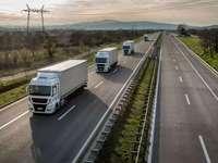 Trucks - Trucks on the highway