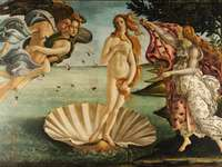 SANDRO BOTTICELLI. ITALY - THE BIRTH OF VENUS
