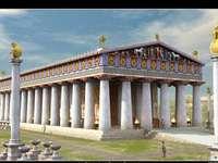 PUZZLE- görög sablon