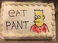 Zjedz spodnie - Witam, druga łamigłówka