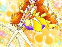 天之川綺羅(閃亮天使Cure Twinkle) - 第十二部Go Princess光之美少女主角之一,親眼目睹克羅茲大鬧自己的時裝秀�