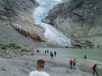 Norwegen Gletscher - M ...................