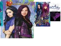 Evie and Mal descendants - descendants 1 y2 con evie y mal