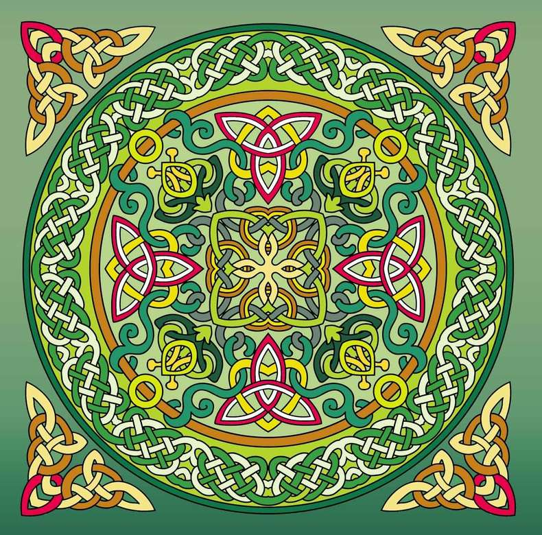 Mandala celtic design (12×12)